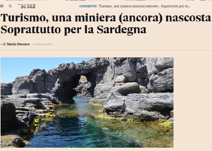 Turismo, una miniera (ancora) nascosta. Soprattutto per la Sardegna